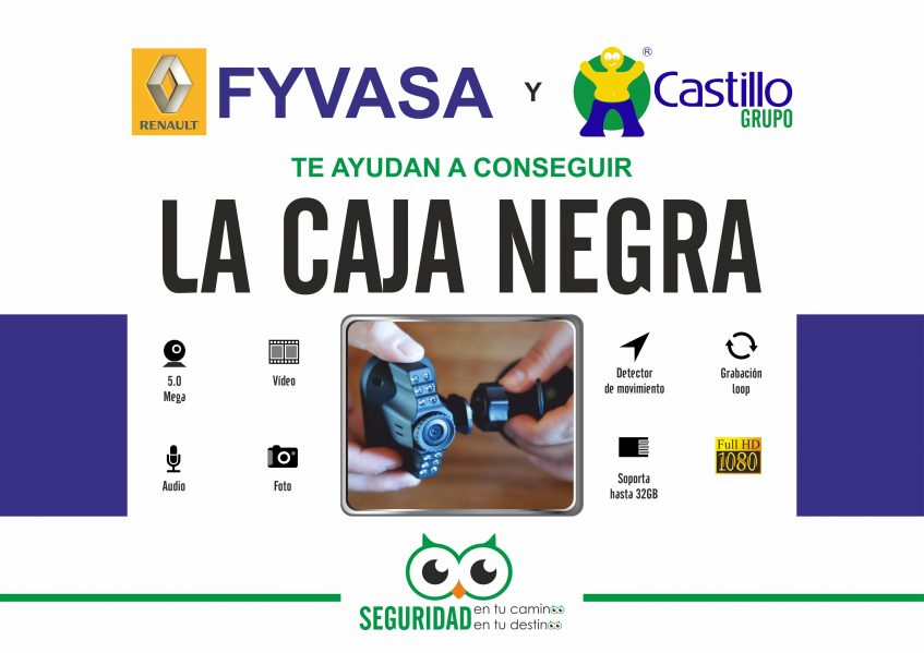 FYVASA y Castillo Grupo te regalan la Caja Negra