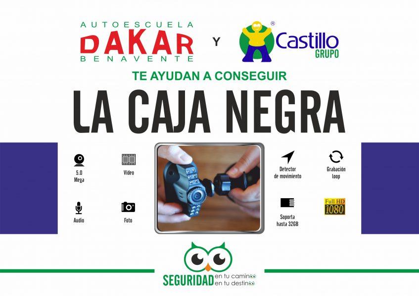 Autoescuela Dakar te regala la Caja Negra