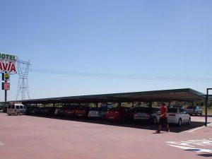 parking en gasolineras